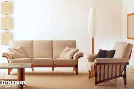 Итальянская мебель Rattan Wood - Диван Airone