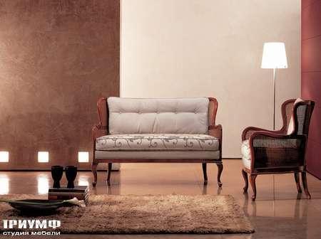 Итальянская мебель Medea - Диван с простеганной спинкой, классика