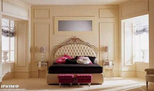 Итальянская мебель Giusti Portos - Спальня с изголовьем capitone Soliel