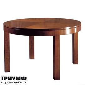 Итальянская мебель Morelato - Стол с круглой столешницей