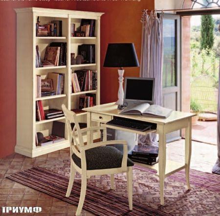 Итальянская мебель Tonin casa - компактный кабинет из массива