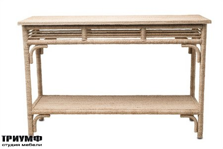Американская мебель Currey and Company - Olisa Console Table