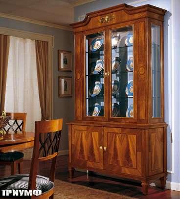 Итальянская мебель Colombo Mobili - Витрина арт.235.2 кол. Verdi