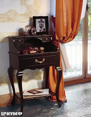 Итальянская мебель Tonin casa - секретер компактный, открытый