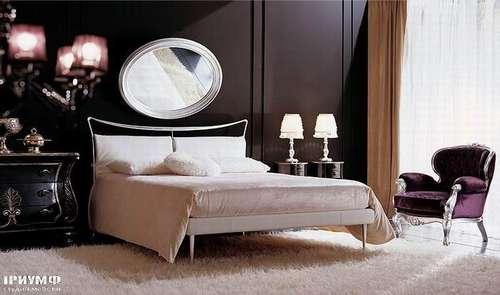 Итальянская мебель Giusti Portos - Спальня с подушками на изголовье Toledo