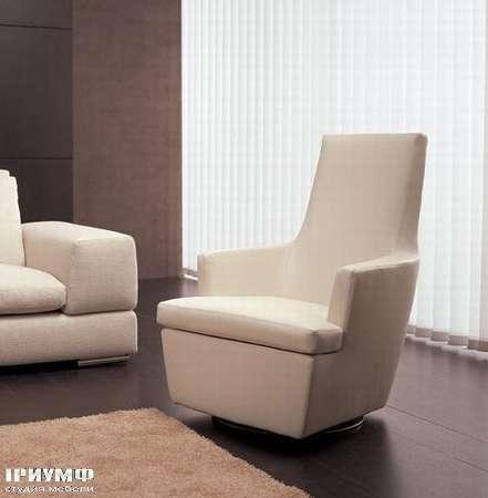 Итальянская мебель CTS Salotti - Кресло модерн, крутящиеся Diva