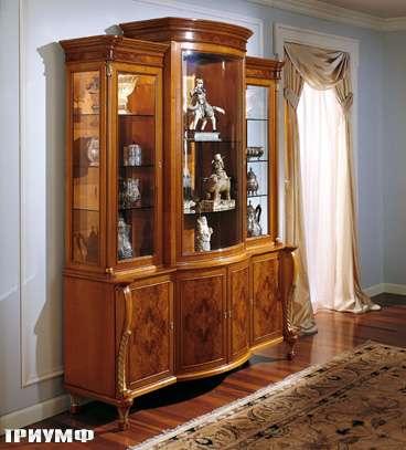 Итальянская мебель Colombo Mobili - Витрина арт.281 кол. Monteverdi