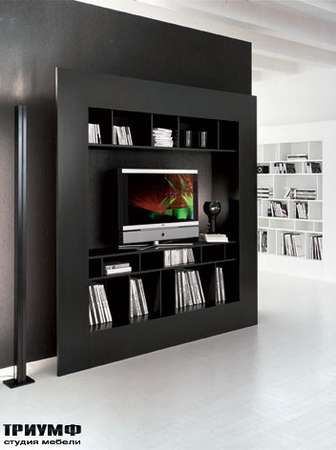 Итальянская мебель Cattelan Italia - Панель под ТВ Window-TV