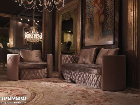 Итальянская мебель Jumbo Collection - Диван CARAVAGGIO 42  кресло CARAVAGGIO43