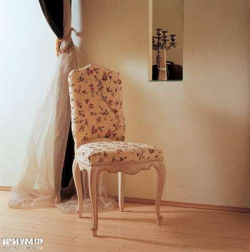 Итальянская мебель Salda - Стул с мягкой спинкой  COD- 8522