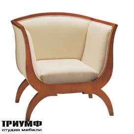 Итальянская мебель Morelato - Кресло с изогнутой спинкой