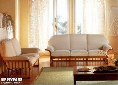 Итальянская мебель Rattan Wood - Диван Gabiano