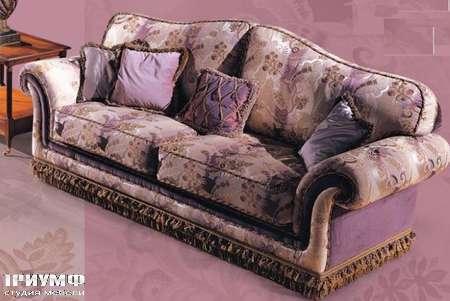 Итальянская мебель Ezio Bellotti - Диван 3-х местный с подушками