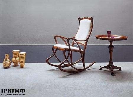 Итальянская мебель Medea - Кресло арт. 920, столик арт. 199