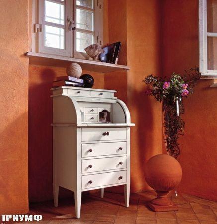 Итальянская мебель Tonin casa - секретер с дверцей-жалюзи