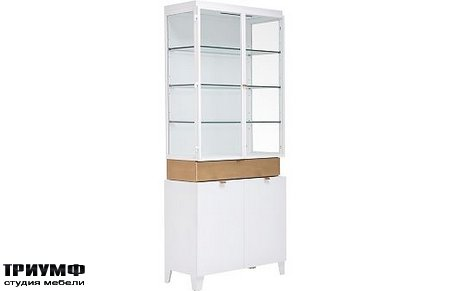 Американская мебель Drexel - Muse Display Cabinet with Deck
