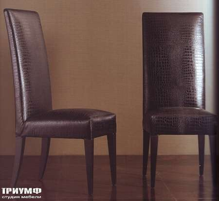 Итальянская мебель Rugiano - Стул Queen из кожи крокодила