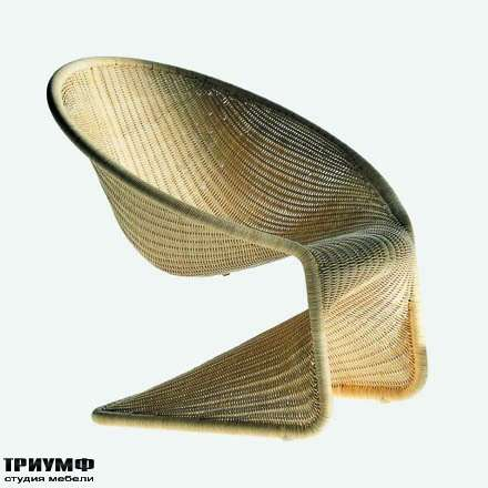 Итальянская мебель Driade - Кресло плетеное Kraton