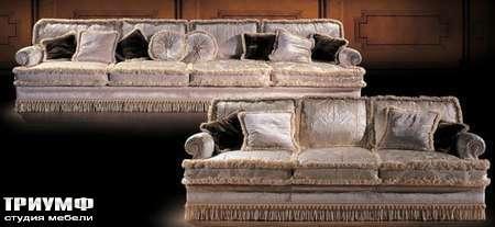 Итальянская мебель Ezio Bellotti - Диван 4-х местный в ткани