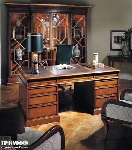 Итальянская мебель Francesco Molon - Стол с кожаной столешницей