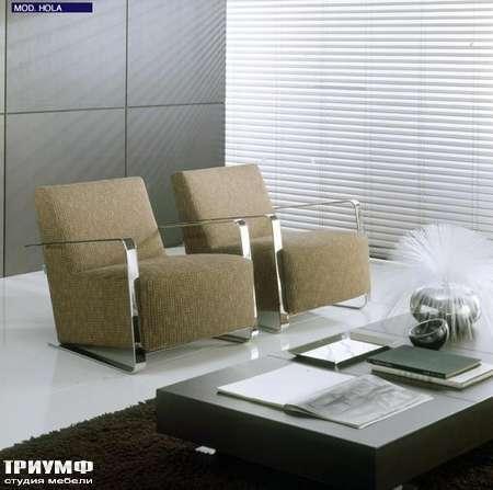 Итальянская мебель CTS Salotti - Кресло наклонное дизайнерское Hola
