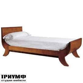 Итальянская мебель Morelato - Деревянная кровать-ладья