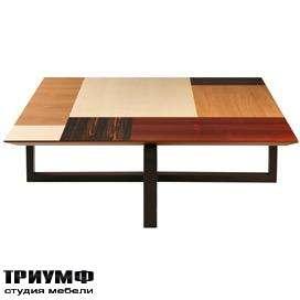 Итальянская мебель Morelato - Столик с наборным топом