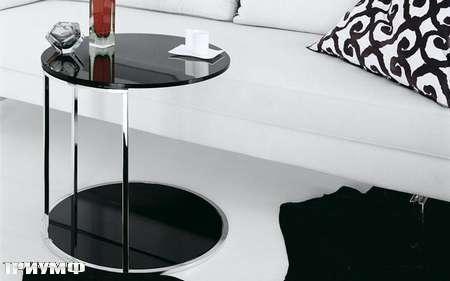 Итальянская мебель Presotto - столик sirio в глянцевом лаке
