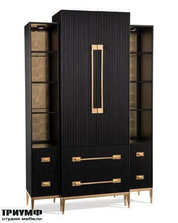 Американская мебель John Richard - Black Satin Cabinet