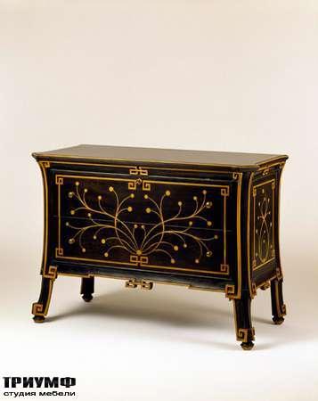 Итальянская мебель Chelini - Комод инкрустированный с ящиками