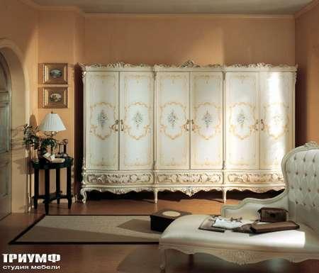 Итальянская мебель Silik - Шкаф 6-ти створчатый Elena
