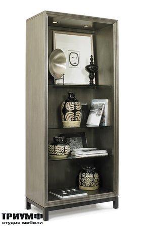 Американская мебель Hickory White - Varick Open Bookcase
