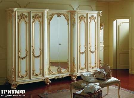 Итальянская мебель Silik - Шкаф в спальню 6 дверей Igea