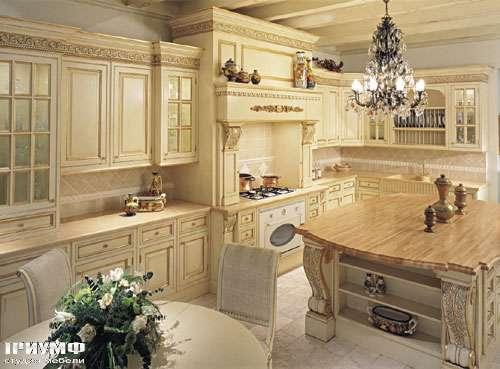 Итальянская мебель Francesco Molon - Кухня в крашеном дереве
