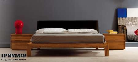 Итальянская мебель Pianca - Кровать Class в национальном орехе