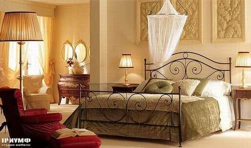 Итальянская мебель Giusti Portos - Спальня гнутые формы Victor