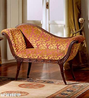 Итальянская мебель Colombo Mobili - Кушетка арт.249 кол. Mascagni