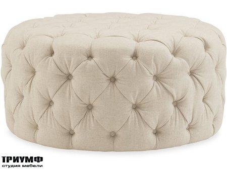 Американская мебель Hooker firniture - Hazel Round Ottoman