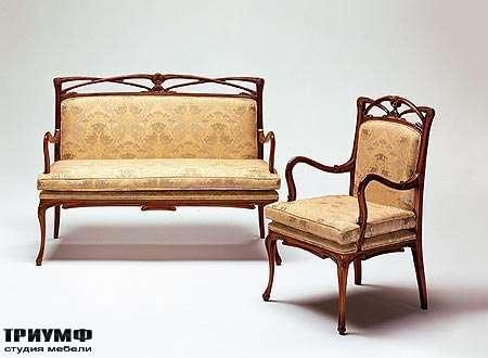 Итальянская мебель Medea - Диван арт. 192, стул арт. 191