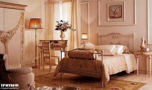 Итальянская мебель Giusti Portos - Спальня с бюро Virginia