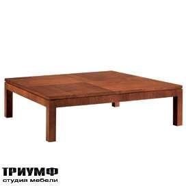 Итальянская мебель Morelato - Столик квадратный низкий