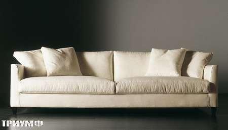 Итальянская мебель Meridiani - диван Bisset maxi new  в ткани