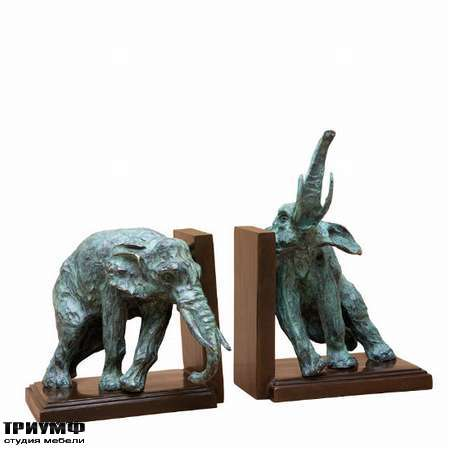 Голландская мебель Eichholtz - bookend lazy elephant