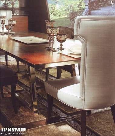 Итальянская мебель Rugiano - Стол прямоугольный Byron, металл