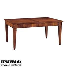 Итальянская мебель Morelato - Стол с прямоугольным топом