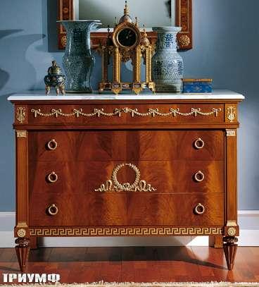 Итальянская мебель Colombo Mobili - Комод в имперском стиле арт.125 кол. Bellini