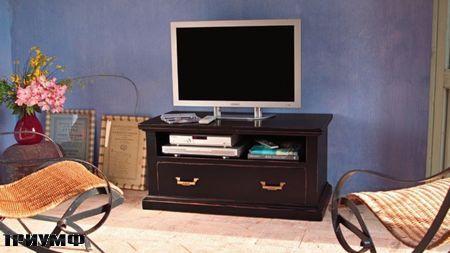 Итальянская мебель Tonin casa - напольный элемент под тв из массива