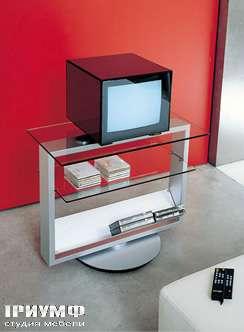 Итальянская мебель Longhi - тумба под TV 160