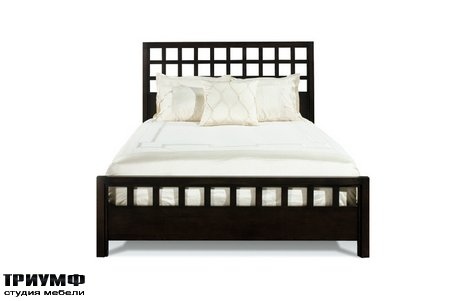 Американская мебель Harden - Scottsdale Fret Bed