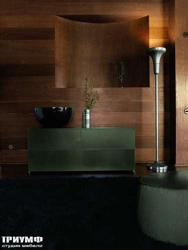Итальянская мебель Ivano Redaelli - Комод кожанный